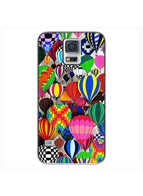 People's Cover Samsung S5 Mini Kabartmalı Kapak Renkli